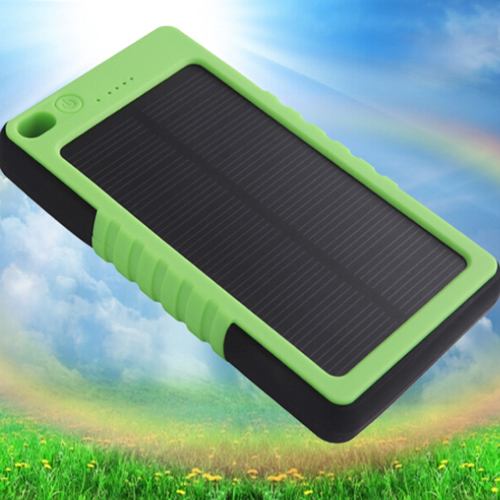 ALD-P02 8000mah solar power bank mobile