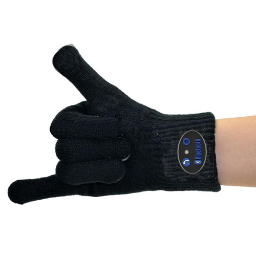 Gloves smartphone black