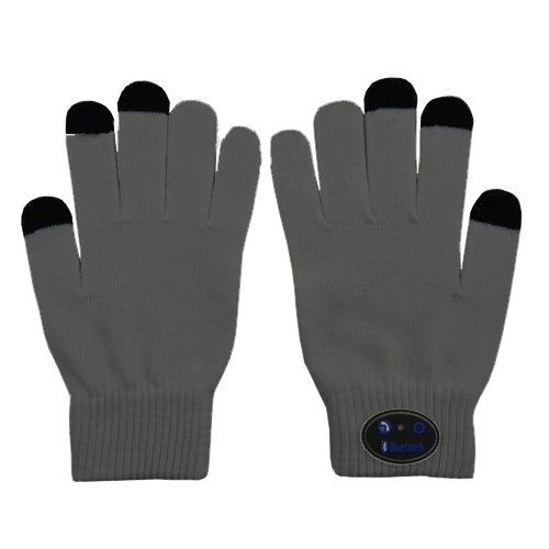 Smartphone gloves grey