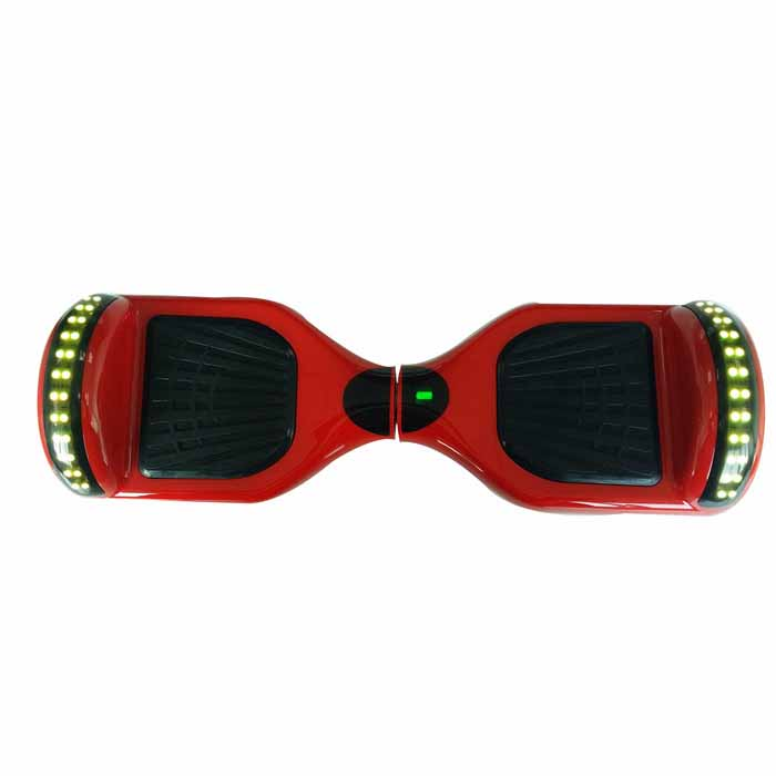 Red Hoverboard With Bluetooth And Led 6 5 Inch Mobile